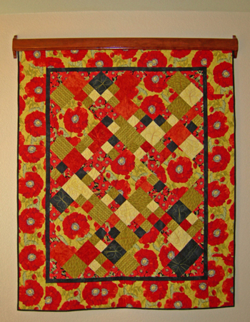 easyDisplay Decorative Quilt Hanger - Instructions : hang a quilt on the wall - Adamdwight.com